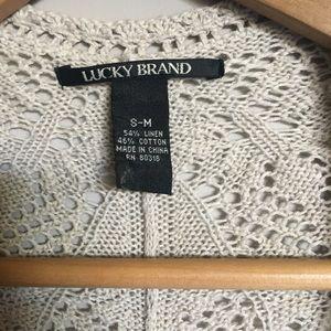 Lucky Brand Sweaters - Lucky Brand cardi